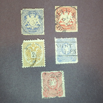 German Stamps - Anyone Recognize These?
