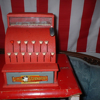 Toy Cash Register  - Coin Operated