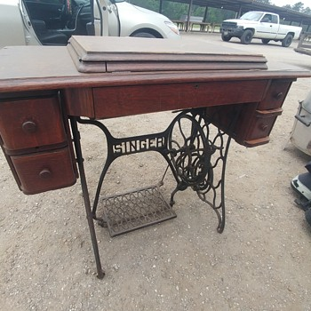 Antique Siner sewing machine