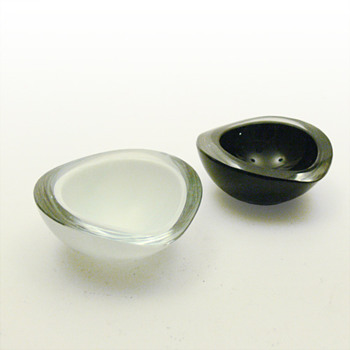 KASTANJA bowls, Kaj Franck (Nuutajarvi Notsjö, 1955) - Art Glass