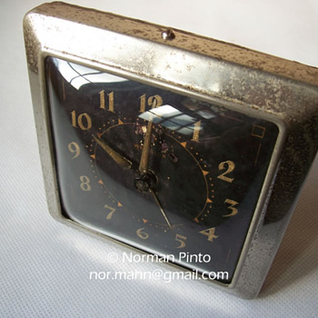 Westclox Circa 1955, Made by Westclox Ltd. Scotland - Clocks