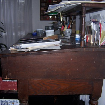 Early Printer's Desk - Furniture