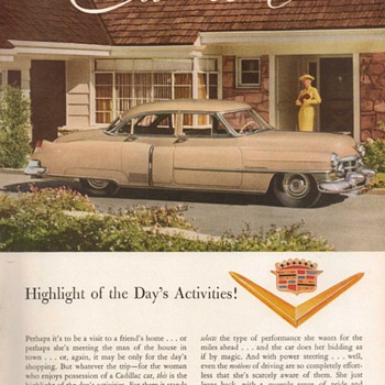 1952 - Cadillac Advertisement