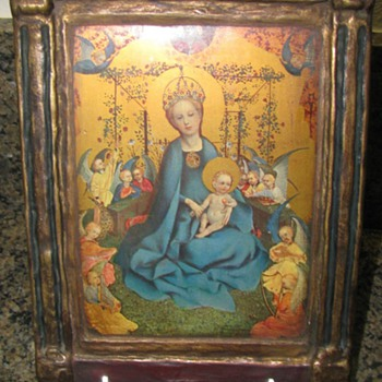 Madonna of the Roses alter piece