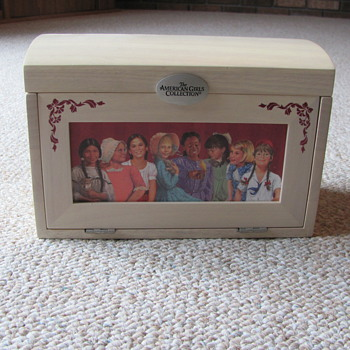 American Girls Collection Jewelery Box - Dolls