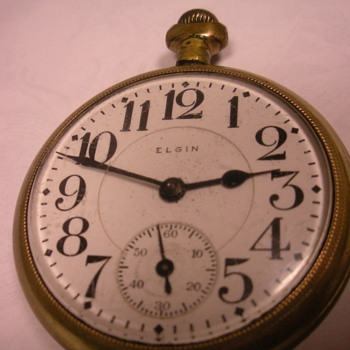 My pocket watches...