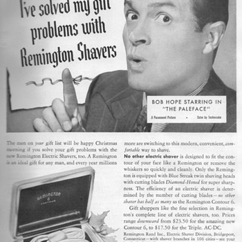 1948 - Remington Shaver Advertisement - Advertising