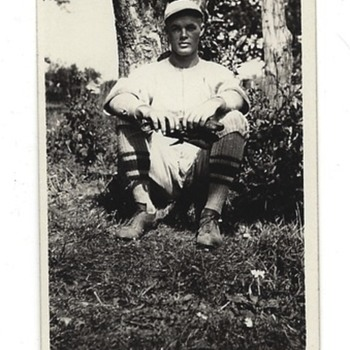 Found in old family photographs - Baseball