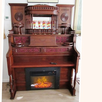 Our 1893 Estey Parlor Pump Organ Repurposed - Furniture