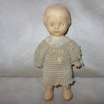 german squeak doll