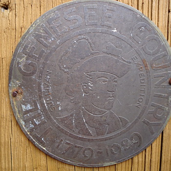 trail marker,1929 - Signs