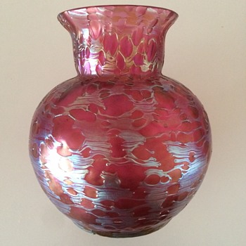 "Loetz ""Diaspora Neu"" vase - Art Glass"