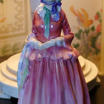 "Royal Doulton Leslie Harradine ""Gillian"" Figurine - Figurines"
