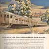 "1953 - Budd Company RDC Traincars ""New Haven"" Advertisements"