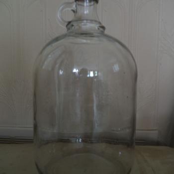Vintage Glass Gallon Jug