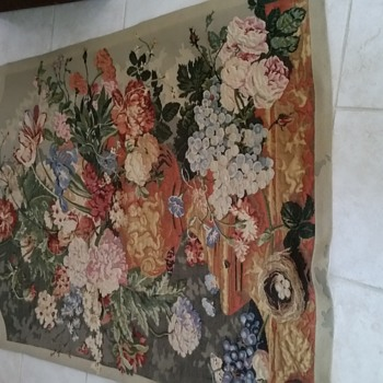 "70"" x  50"" Florial tapestry"
