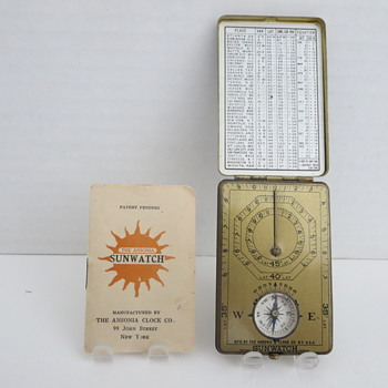 Ansonia Sun Watch - Clocks