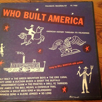 Who built America .By Bill Bonyon (1950) - Records