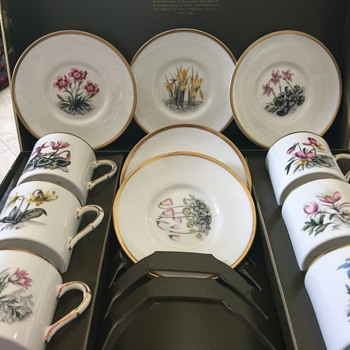 Royal Worcester china set