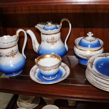 French porcelain Teaset