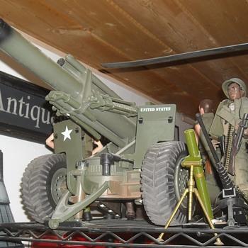 GI Joe 155mm Howitzer circa 2000 - Toys