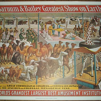 Barnum and Bailey Circus Posters (4 designs)
