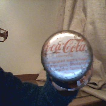 Coca Cola 10 FL oz glass bottle