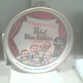 Pabst Blue Ribbon Tray  - Breweriana