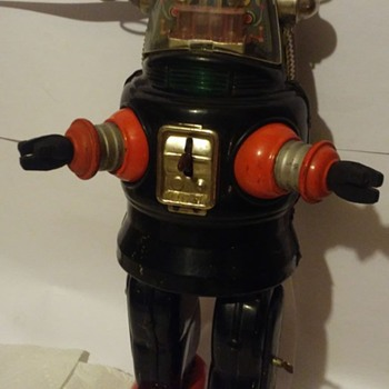 1950's Battery Operated Robby the robot !