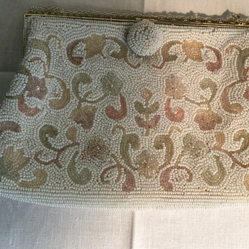 DeLill Handmade in Japan Beaded Bag