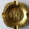 Handmade Antique Ashtrays...Made of Copper&Brass