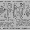 1919 - Dakota Farmer Sewing Patterns Advertisement
