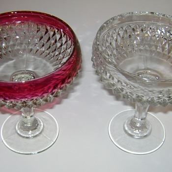 Indiana Glass Diamond Point - Glassware