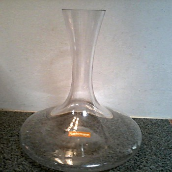 Nachtmann Vivendi Decanter 750 ml / Circa 2008 - Glassware