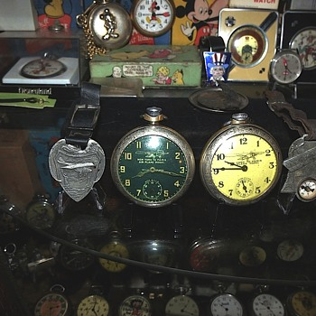 Both style Lindbergh Pocket Watches and Fobs