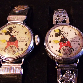 "The First issue Mickey Mouse Wrist Watch ""Chicago World Fair"" - Wristwatches"