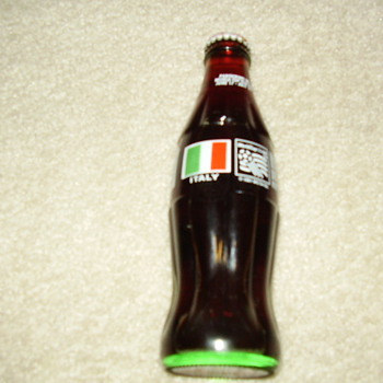 My coke Italy world cup 1994 bottles collection