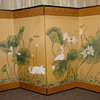 Japanese (?) 4 panel wall/ screen