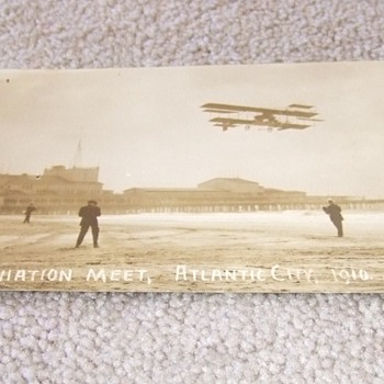 Early Aviation RPPC of Wright's Flyer  c. 1910 - Photographs