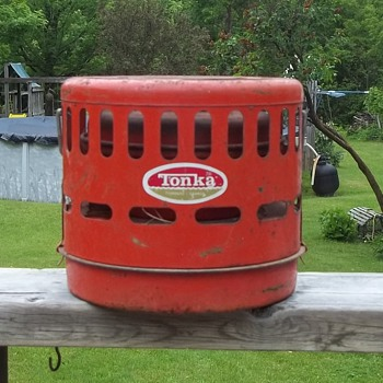 Tonka Camping Orange Color  Heater - Sporting Goods