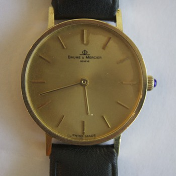 inherited a Baume & Mercier watch, can someone tell me more about it?