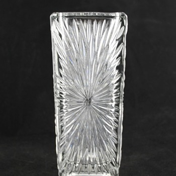 Rudolfova starburst vase - Art Glass