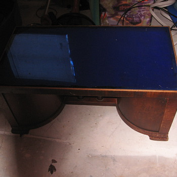 coffee table era and maker unknown