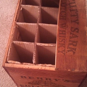 Vintage Whiskey Box - Advertising