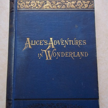 Alice&#039;s Adventures in Wonderland 1880 - Books