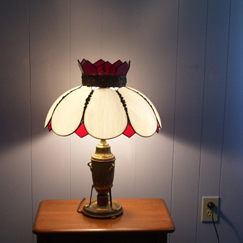 My favorite antique lamp.