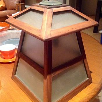 Handmade craftsmen lamp