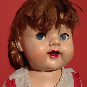 A lovely looking doll     made in England