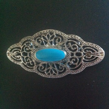 another Art Nouveau BROOCH in the typical style - Costume Jewelry