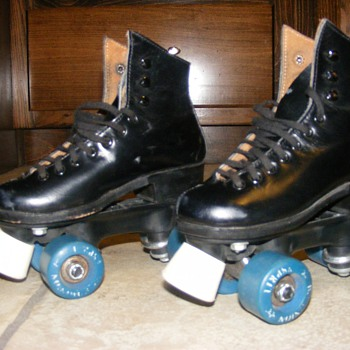 Vintage Oberhamer Roller Skates - Outdoor Sports